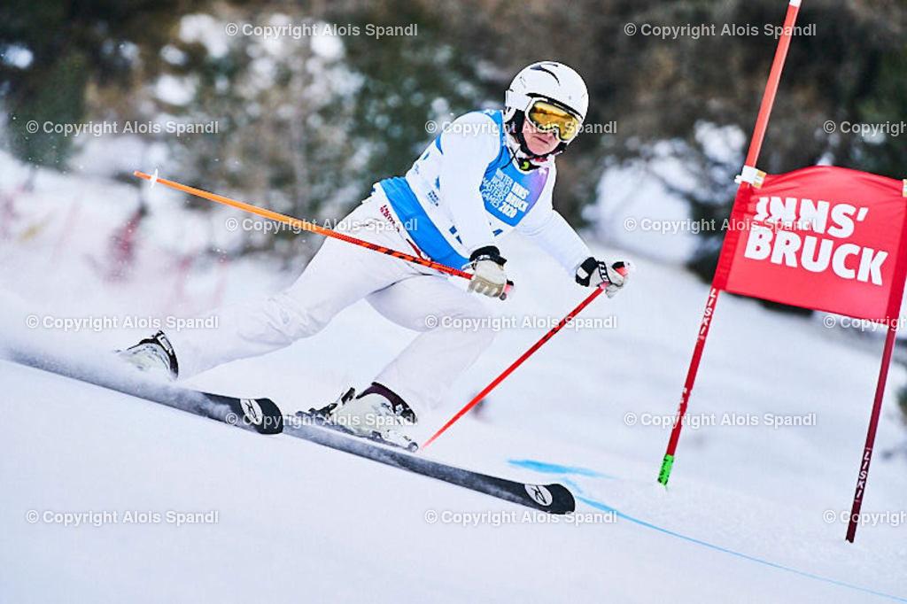 ALS5804_WWMG_GS-II_C | (C) FotoLois.com, Alois Spandl, WinterWorldMastersGames 2020 Innsbruck, Giant Slalom-II Gruppe C Damen, Patscherkofel Olympiaabfahrt, Mi 15. Jänner 2020.