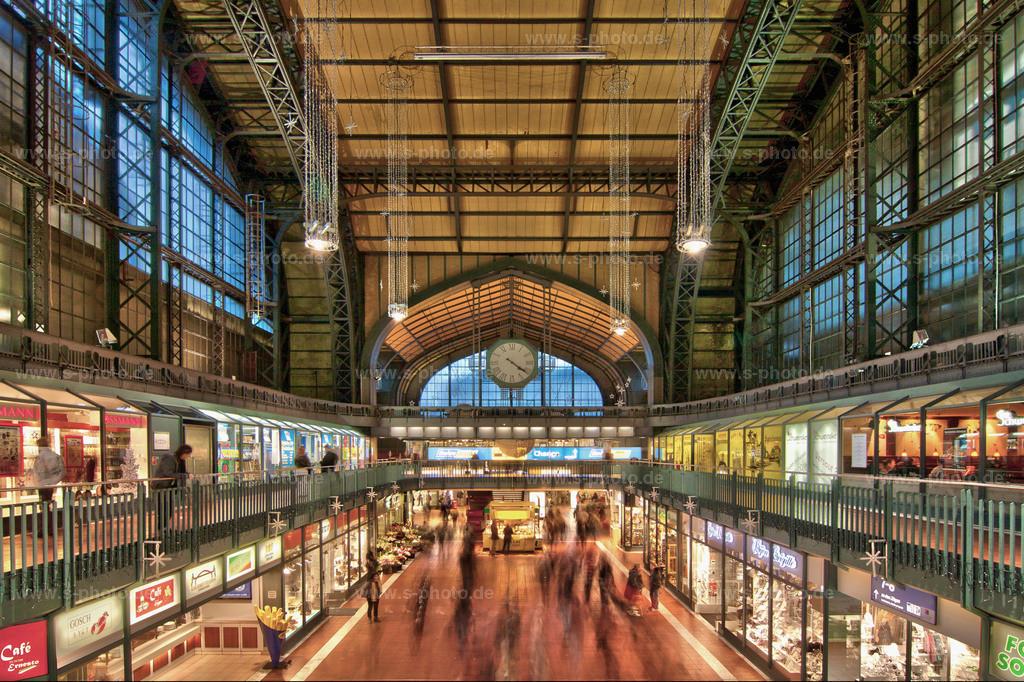 Wandelhalle am Hauptbahnhof