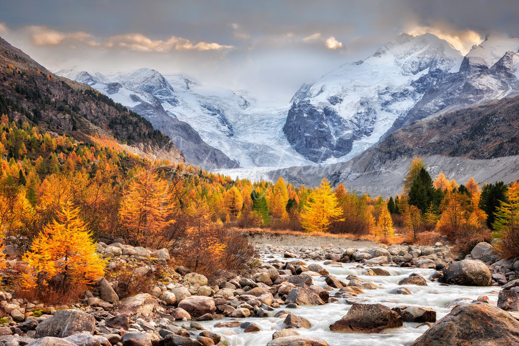 Am Gletscherfluss