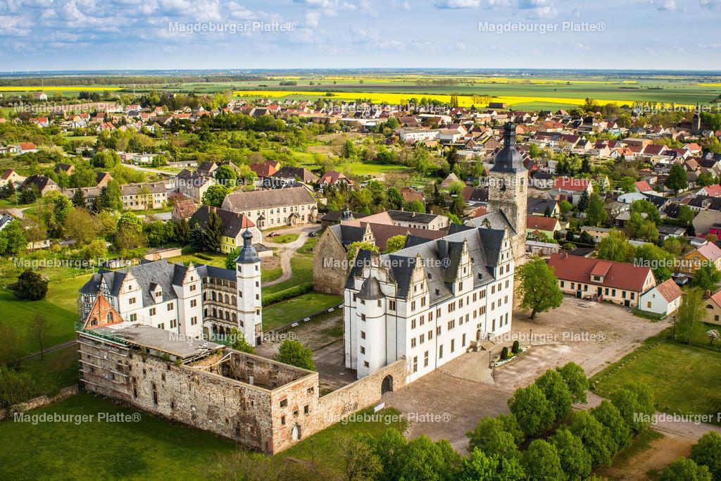 Luftbild Schloss Leitzkau-1117