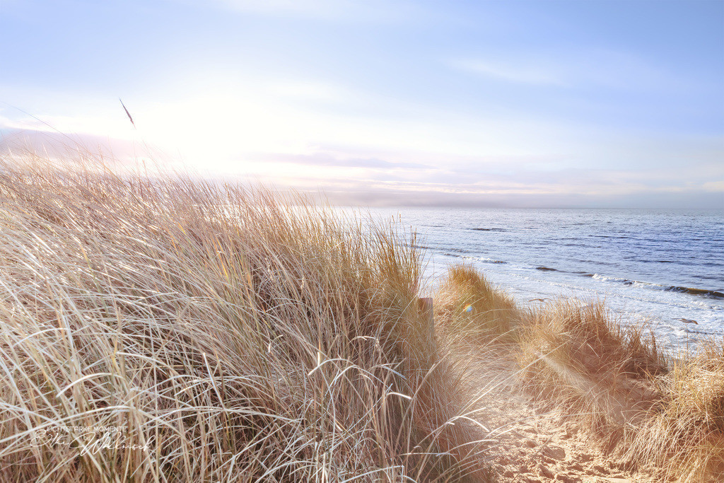 Am Meer wird alles gut | Spazierweg am Roten Kliff, Sylt