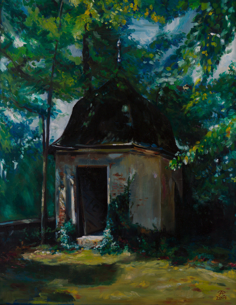 Die Einsame Kapelle | Originalformat: 60x75cm  -   Produktionsjahr: 2004