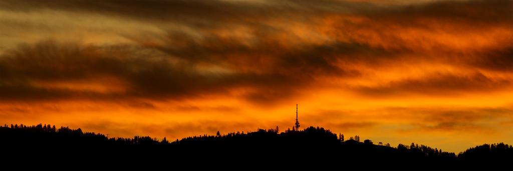 Sonnenaufgang über dem Pfänder