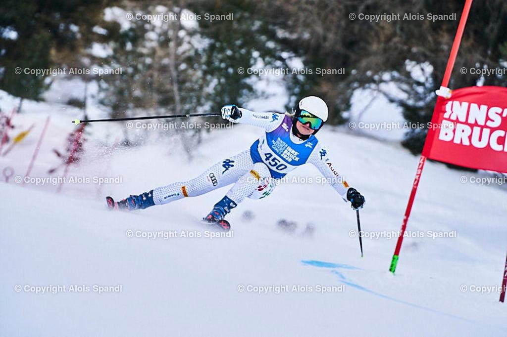 ALS5917_WWMG_GS-II_C | (C) FotoLois.com, Alois Spandl, WinterWorldMastersGames 2020 Innsbruck, Giant Slalom-II Gruppe C Damen, Patscherkofel Olympiaabfahrt, Mi 15. Jänner 2020.