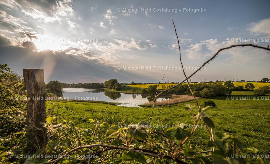 Passader See | Sonnenuntergang am Passader See bei Stoltenberg