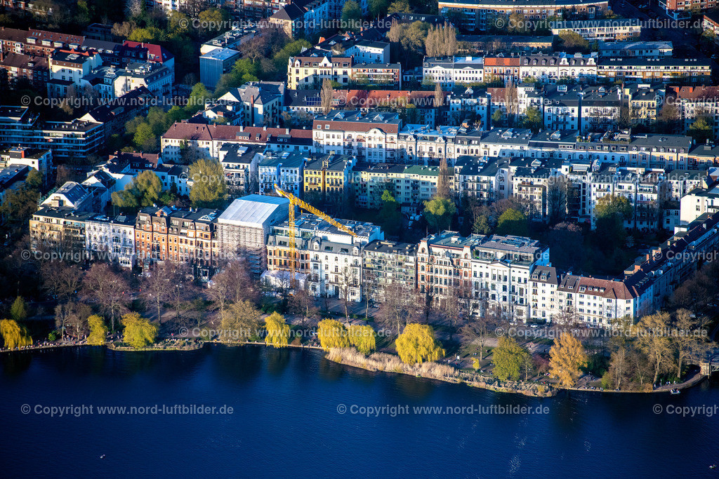 Hamburg_Uhlenhorst_Schwanenwiek_ELS_5702200421 | HAMBURG 20.04.2021 Wohngebiet