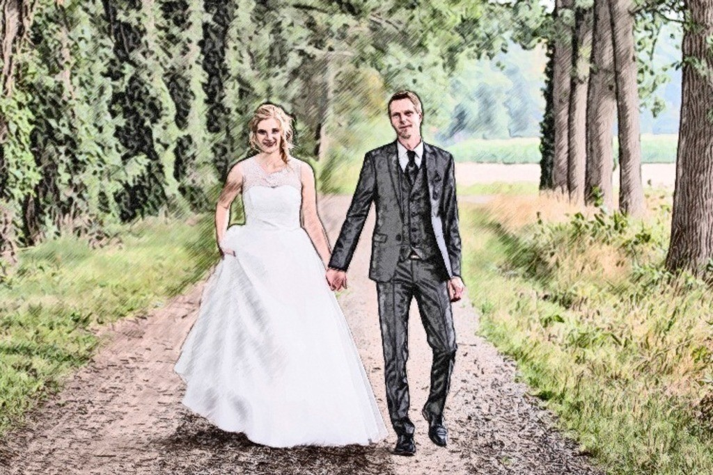 Brautpaar 3 Bild 034