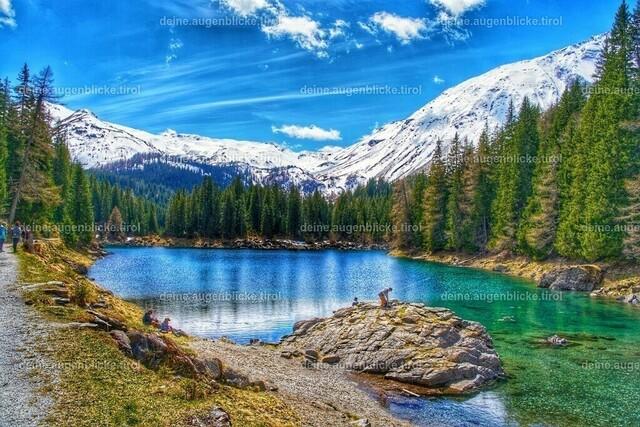 283581-01 | Obernberger See im Tiroler Wipptal. Ein Wanderparadies.