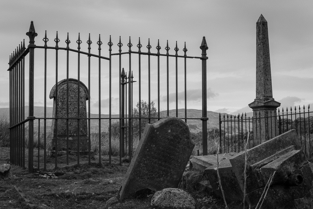 Alter Friedhof in Schottland