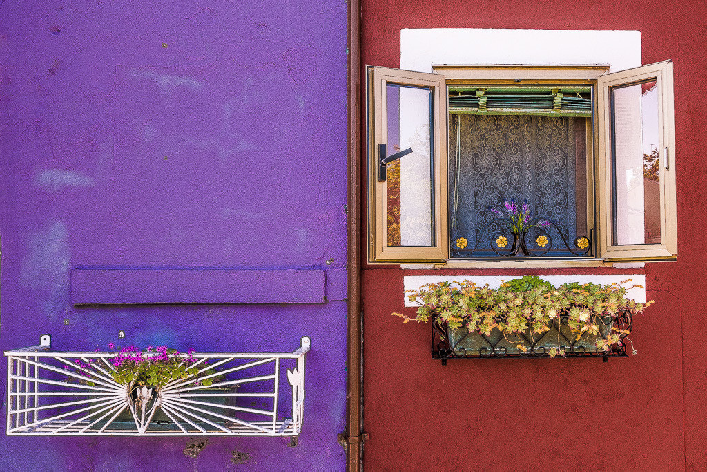 Extreme Farben in Burano