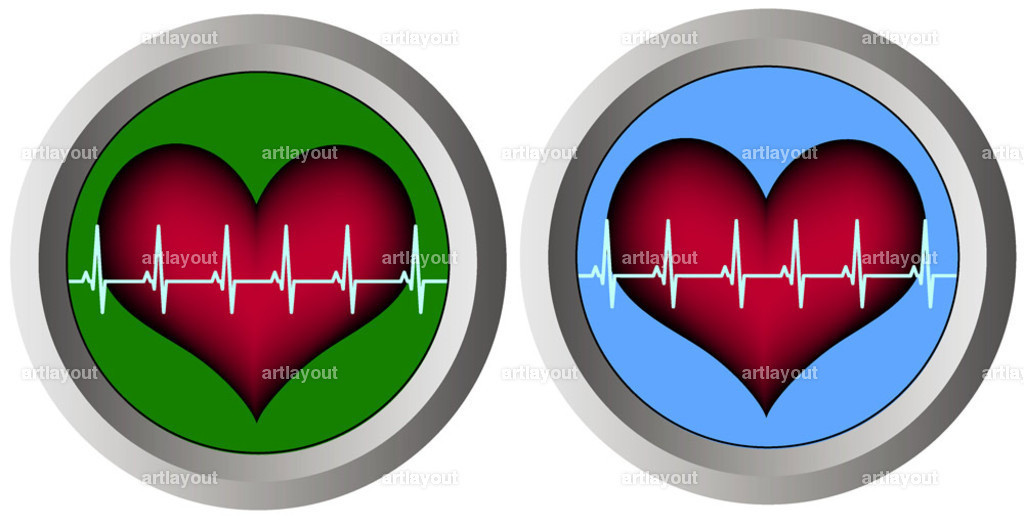 140-two-round-monitors-with-heart