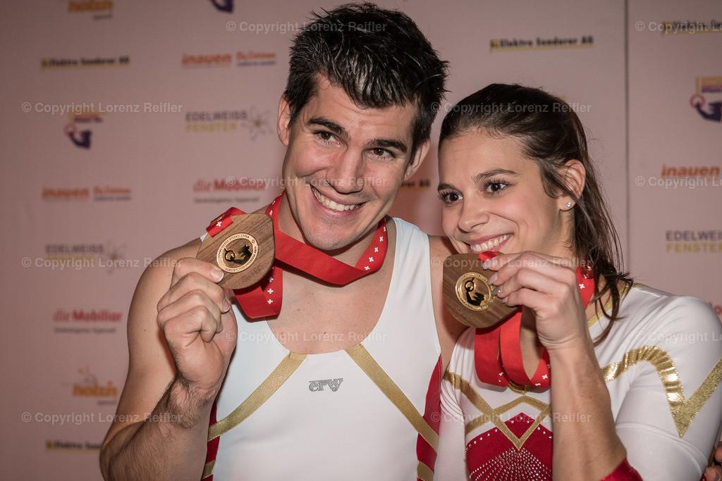 Turnen -  Schweizermeisterschaften Geräteturnen 2019 | Appenzell, 23.11.19, Turnen - Schweizermeisterschaften Geräteturnen. (Lorenz Reifler)