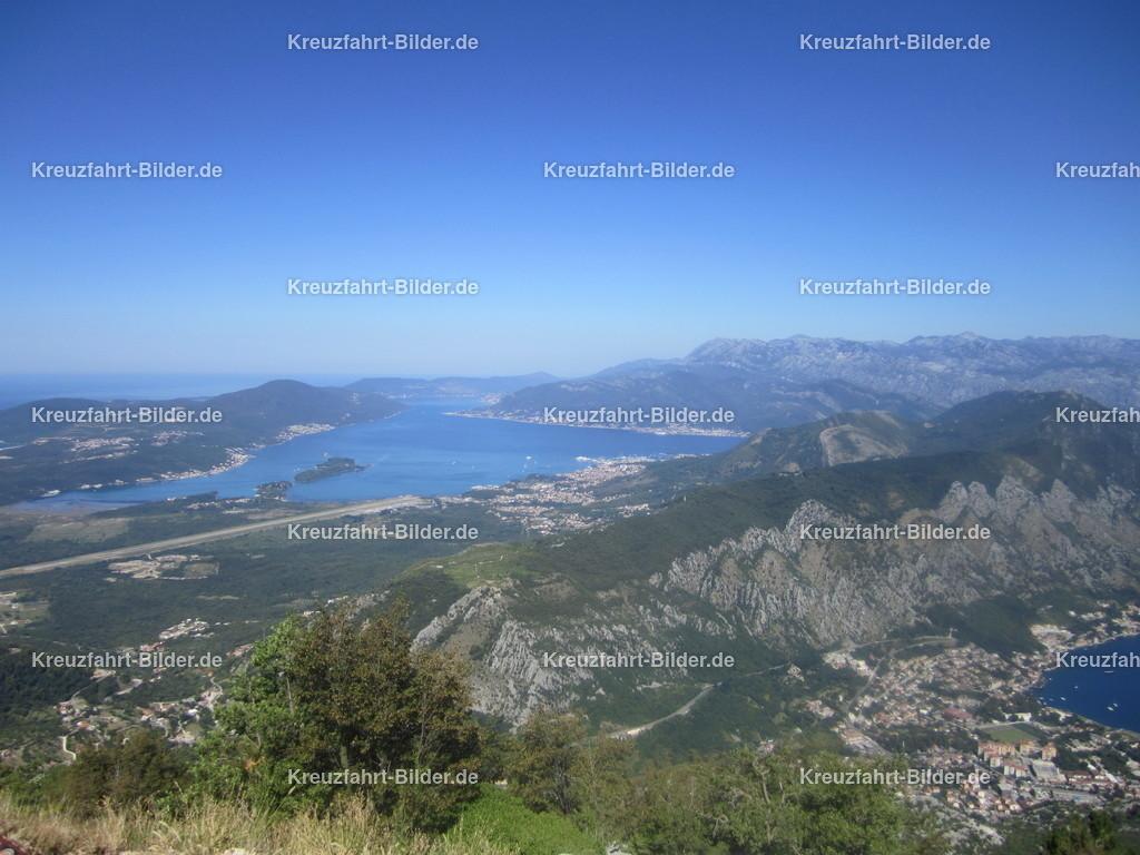 Bucht von Kotor | Blick auf die Bucht von Kotor