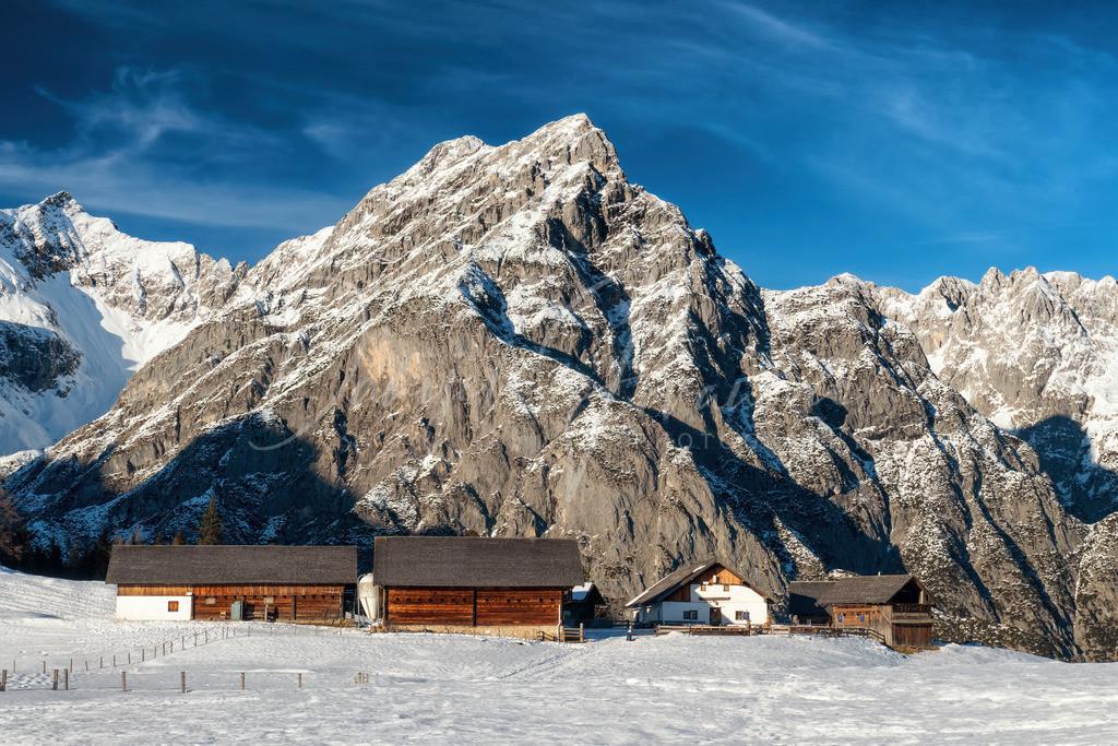 Wintertraum | Wintertraum im Karwendel auf der Walderalm