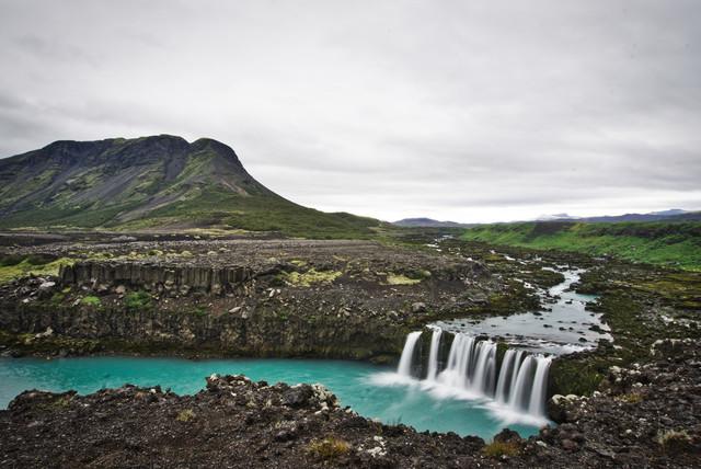 Magic Iceland   Der unbekannte Wasserfall Þjófafoss ist eine Perle Islands