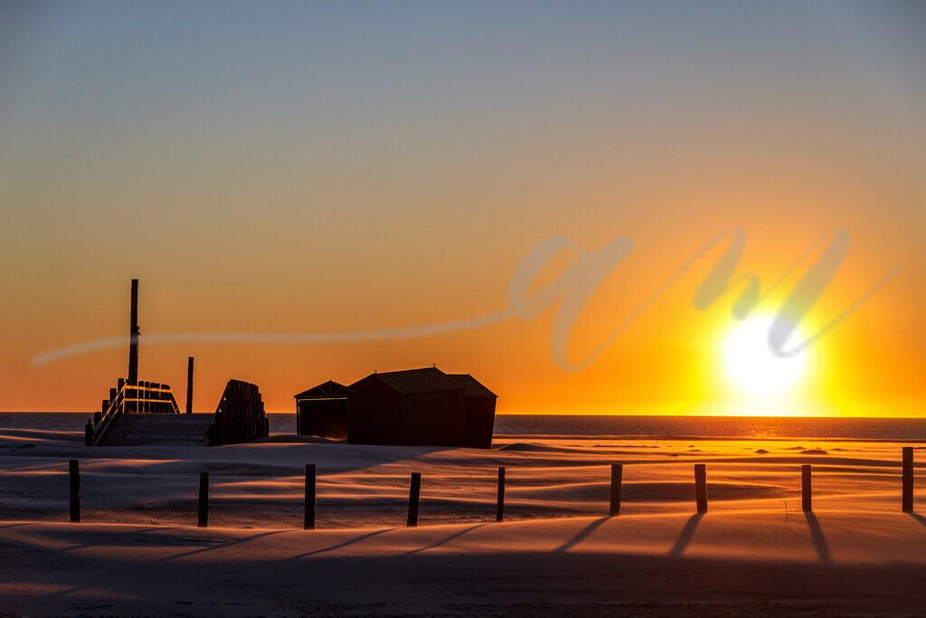 Leergefegt | Während der Corona-Zeit war es still und ruhig am Strand, eine ganz besondere Stimmung...