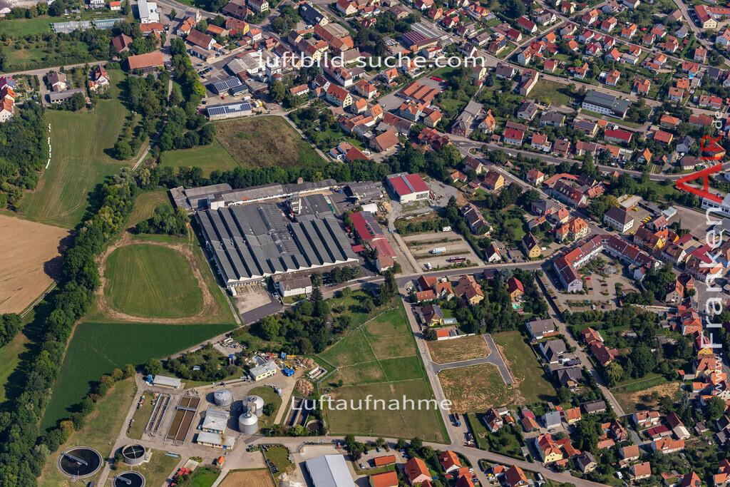 uffenheim-19-749 | aktuelles Luftbild von  Uffenheim - Luftaufnahme wurde 2019 von https://frankenair.de mittels Flugzeug (keine Drohne) erstellt.