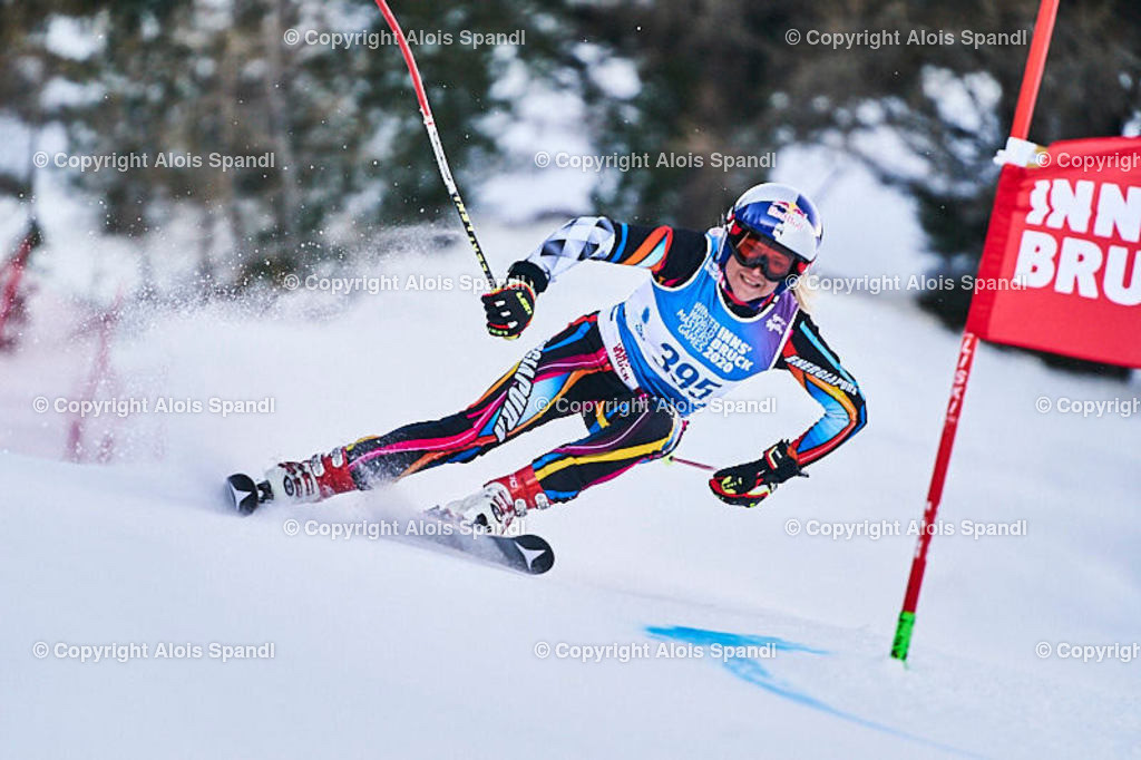 ALS5652_WWMG_GS-II_C   (C) FotoLois.com, Alois Spandl, WinterWorldMastersGames 2020 Innsbruck, Giant Slalom-II Gruppe C Damen, Patscherkofel Olympiaabfahrt, Mi 15. Jänner 2020.