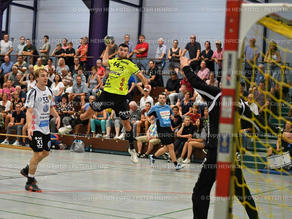 Handball Gross Bieberau Modau - Baunatal 20190824 copyright by HEN-FOTO | Handball 3. Liga Bieberau Modau - Baunatal 20190824 Mi 44 Lucas Eisenhuth (BM) copyright by HEN-FOTO Foto: Peter Henrich