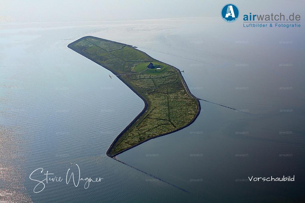 Luftbild Hallig Habel - Weltnaturerbe Wattenmeer | Nordsee, Hallig Habel, Luftbild, Luftaufnahme, aerophoto, Luftbildfotografie, Luftbilder • max. 4272 x 2848 pix.