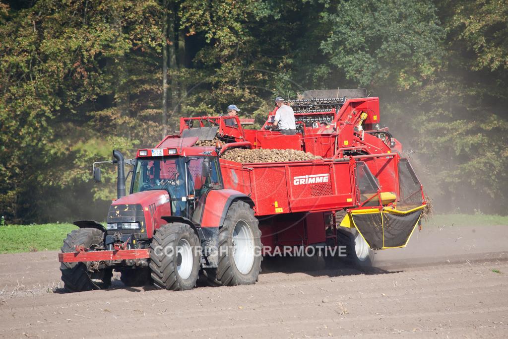 20110929-IMG_6025 | Ernte auf einem Kartoffelfeld - AGRARBILDER