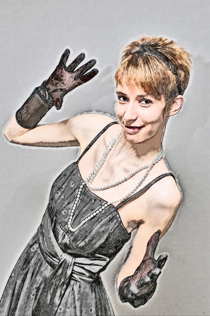 Handschuh Lady Bild 049