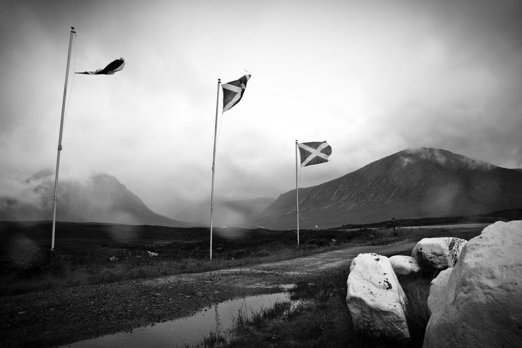 Glen Coe Scotland   Ein regnerischer Tag auf meiner Reise durch Schottland. In Glen Coe.