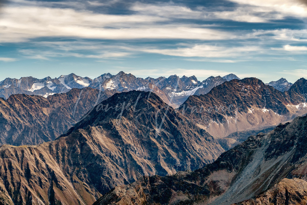 Lüsens | Blick auf den Lüsener Gletscher
