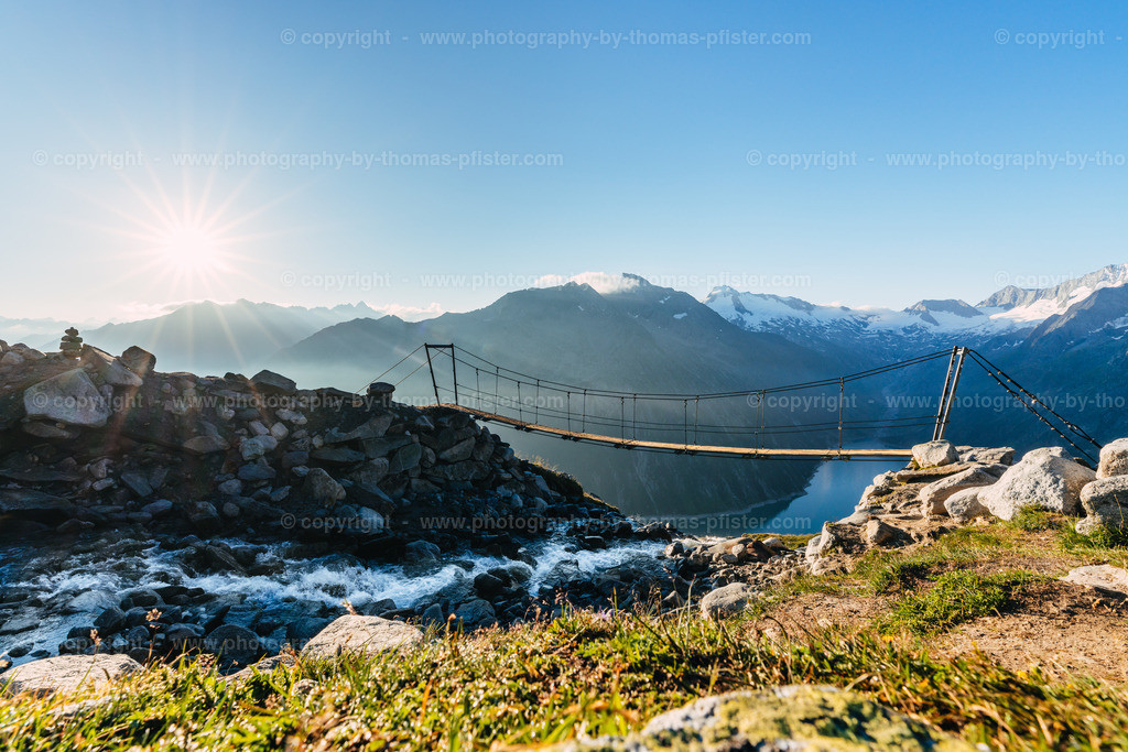 Brücke bei Olpererhütte-3