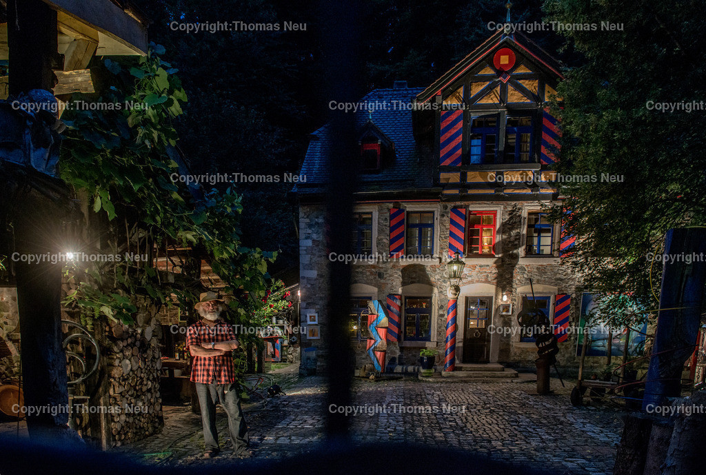 _DSC1678 | Bergstrasse bei Nacht, Siegfried Speckhardts Muehle, ,, Bild: Thomas Neu