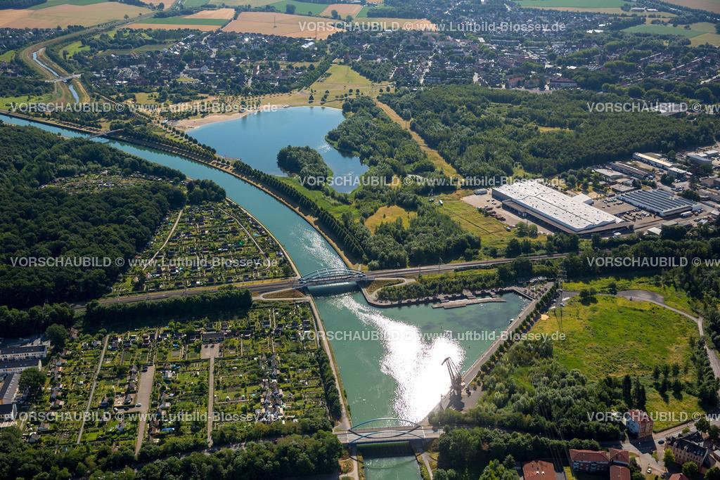 Luenen15071874 | Seepark Lünen mit Kanal und Preußenhafen, Datteln-Hamm-Kanal, Lünen, Ruhrgebiet, Nordrhein-Westfalen, Deutschland