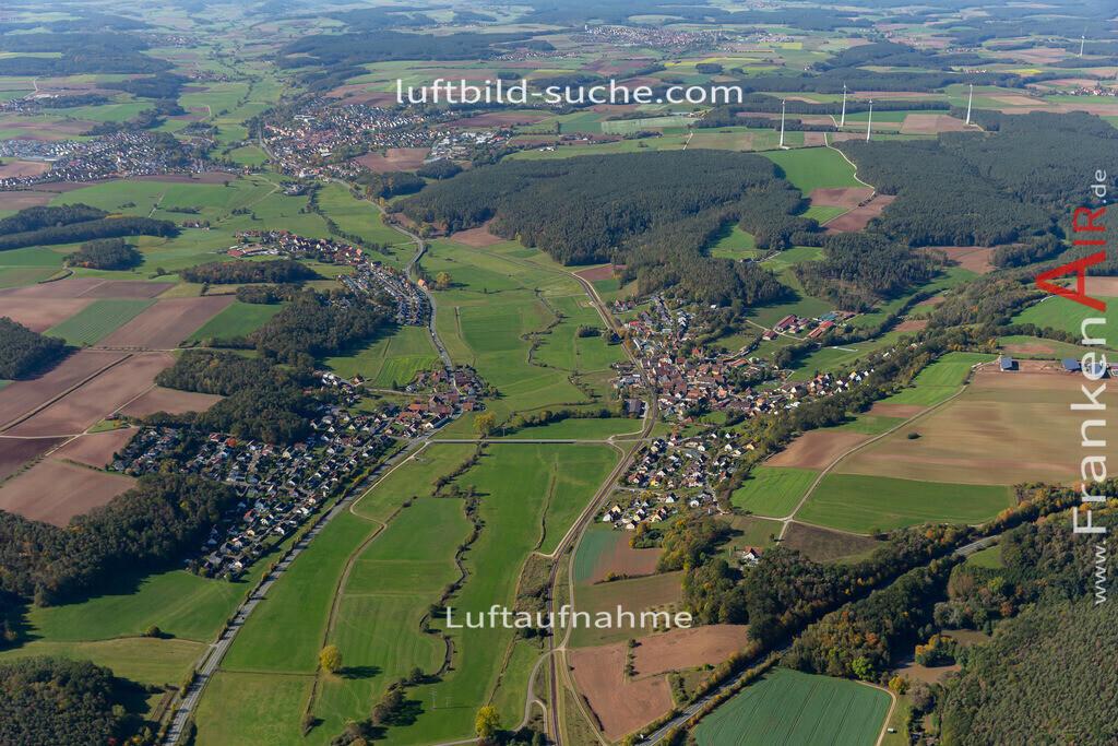 laubendorf-lohe-19-32 | aktuelles Luftbild von Laubendorf  Lohe - Luftaufnahme wurde 2019 von https://frankenair.de mittels Flugzeug (keine Drohne) erstellt.