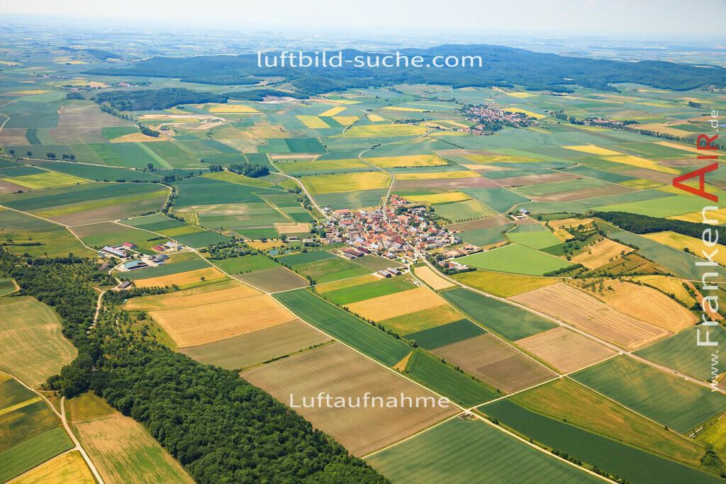 krautostheim-sugenheim-2015-4684 | Luftbild von Krautostheim Sugenheim - Luftaufnahme wurde 2015 von https://frankenair.de mittels Flugzeug (keine Drohne) erstellt - die Geschenkidee