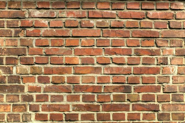 Backsteinmauer (Hintergrund) | Hintergrund aus einer roten Backsteinwand