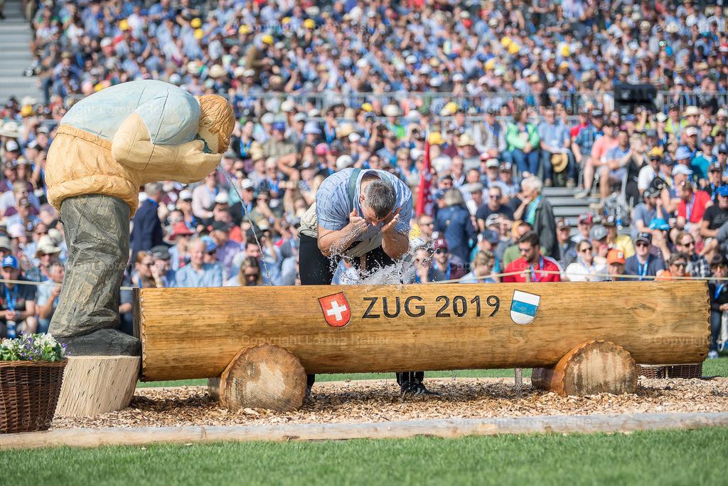 Schwingen -  Eidg. Schwing- und Älplerfest, ESAF Zug 2019 2019 | Zug, 24.8.19, Schwingen - Eidg. Schwing- und Älplerfest, ESAF Zug 2019. (Lorenz Reifler)