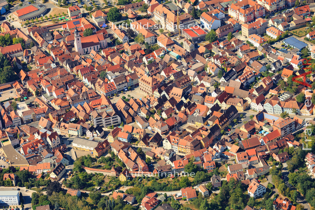 luftbild-neustadt-an-der-aisch-2015-5007 | Luftbild von  Neustadt-an-der-aisch - Luftaufnahme wurde 2015 von https://frankenair.de mittels Flugzeug (keine Drohne) erstellt - die Geschenkidee