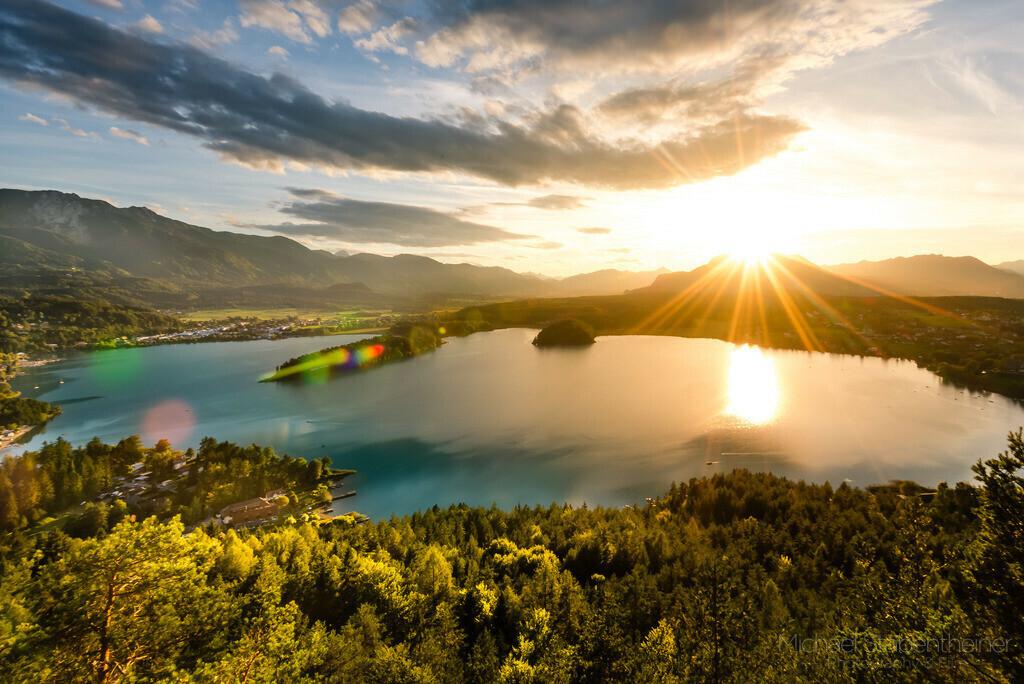 Sommer am Faaker See bei Villach   Sommerliche Farben am Faaker See bei Villach