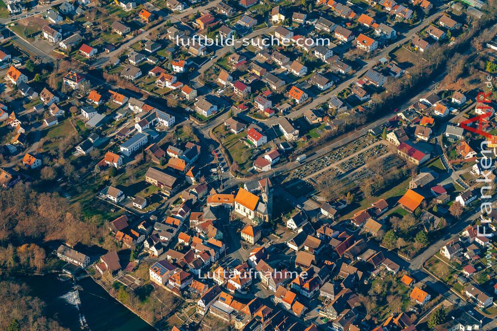 marktzeuln-19-38 | aktuelles Luftbild von  Marktzeuln - Luftaufnahme wurde 2019 von https://frankenair.de mittels Flugzeug (keine Drohne) erstellt.