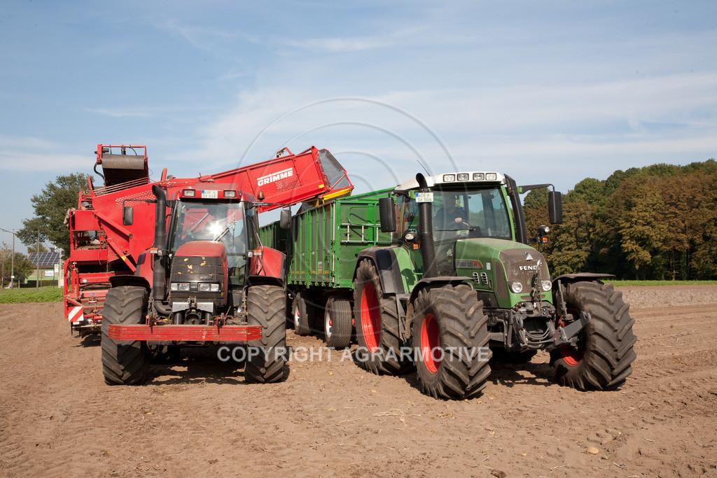 20110929-IMG_5875 | Ernte auf einem Kartoffelfeld - AGRARBILDER
