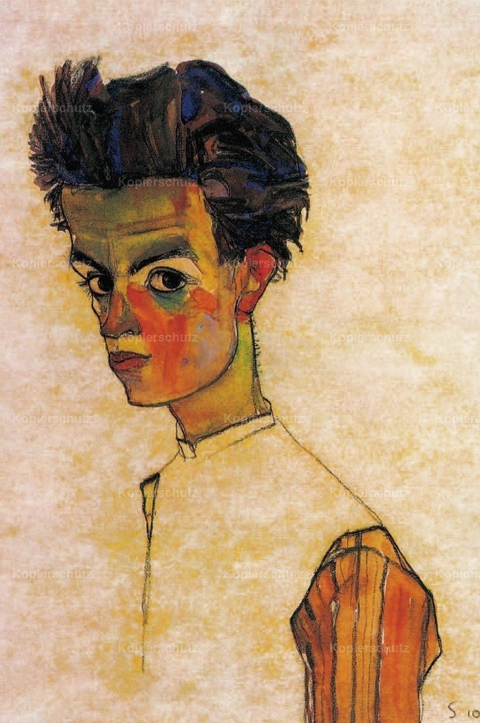 Schiele_ Egon (1890-1918) - Self-portrait 1910