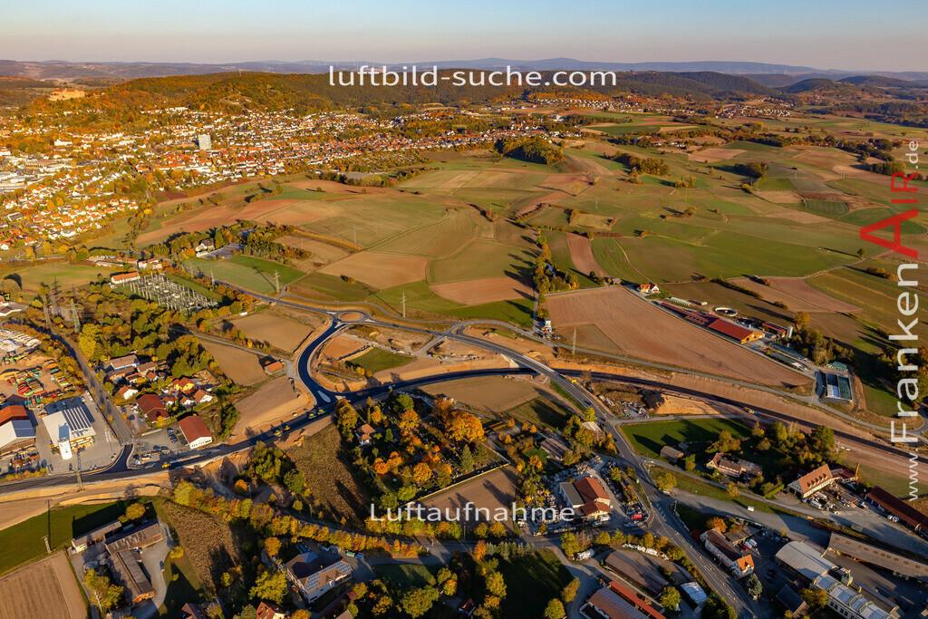 gewerbegebiet-kulmbach-18-366 | aktuelles Luftbild von Gewerbegebiet Kulmbach - Luftaufnahme wurde 2018 von https://frankenair.de mittels Flugzeug (keine Drohne) erstellt.