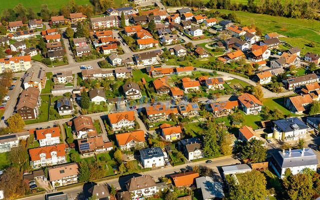 luftbild-teisendorf-bruno-kapeller-63 | Luftaufnahme von Teisendorf im Herbst 2019