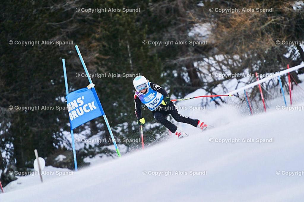 ALS5477_WWMG_GS-II_C | (C) FotoLois.com, Alois Spandl, WinterWorldMastersGames 2020 Innsbruck, Giant Slalom-II Gruppe C Damen, Patscherkofel Olympiaabfahrt, Mi 15. Jänner 2020.