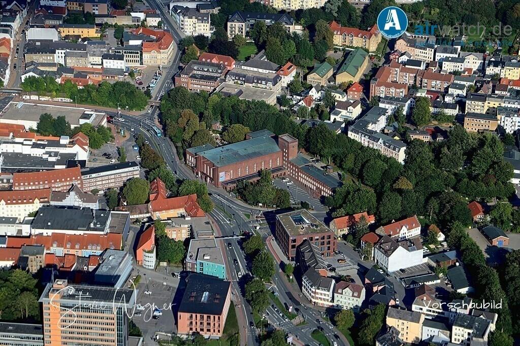 Luftbild Flensburg, Deutsches Haus, Berliner Platz 1, 24937 Flensburg | Luftbild Flensburg, Deutsches Haus, Berliner Platz 1, 24937 Flensburg • max. 6240 x 4160 pix
