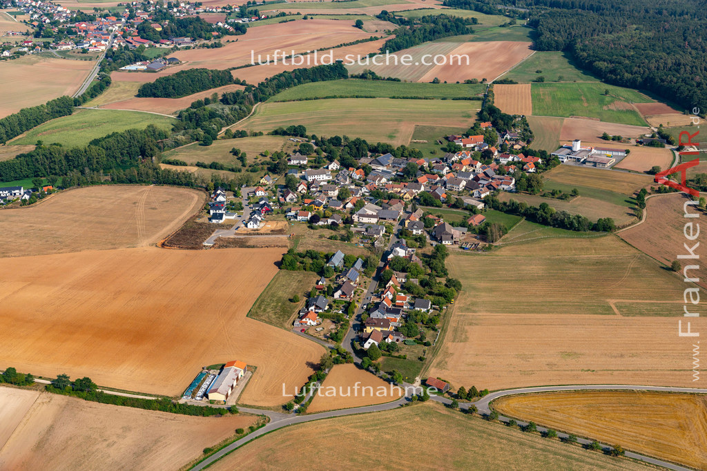 birkach-19-697 | aktuelles Luftbild von Birkach   - Luftaufnahme wurde 2019 von https://frankenair.de mittels Flugzeug (keine Drohne) erstellt.