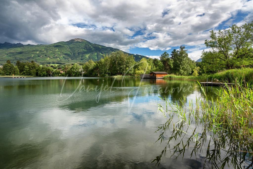 Lanser See   Lanser See mit Patscherkofel
