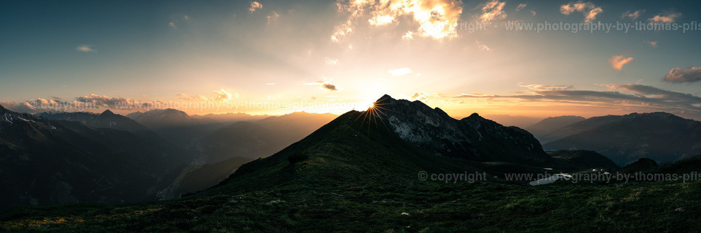 Geiskopf Zillertaler Alpen Panorama_