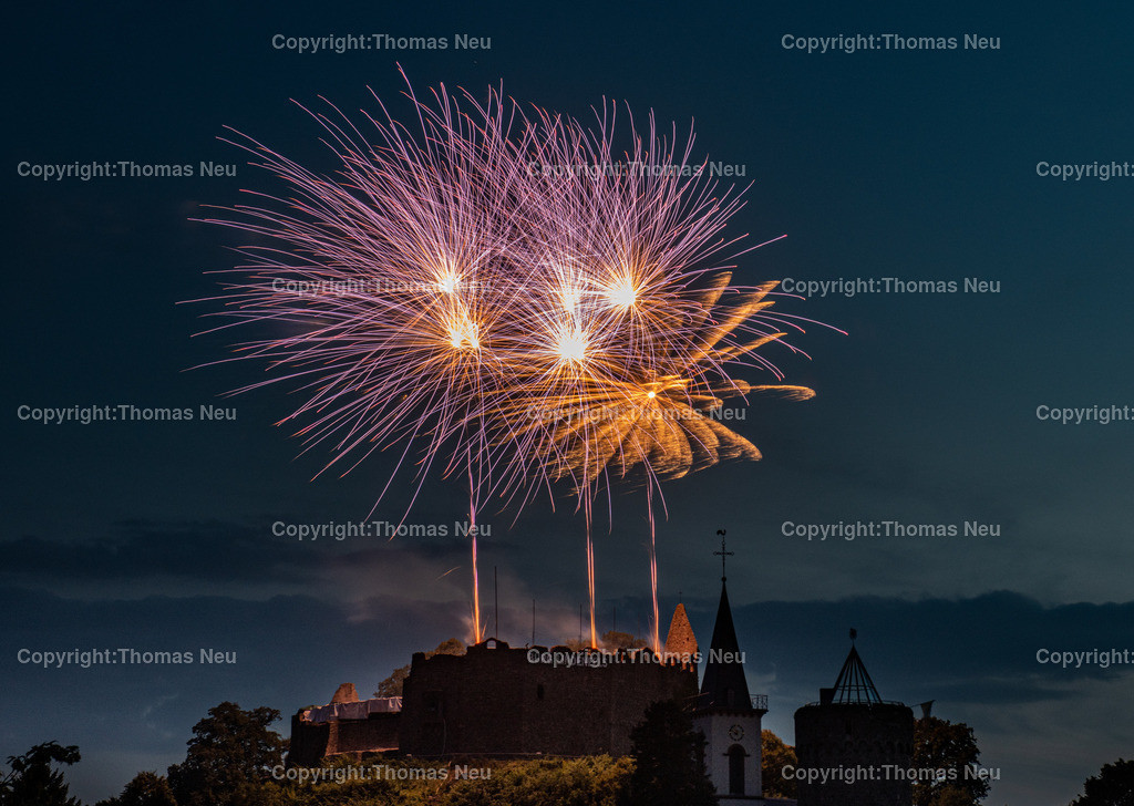 DSC_8564 | Lindenfels, Burgfest Startschuss mit Lampionumzug und Feuerwerk, ,, Bild: Thomas Neu
