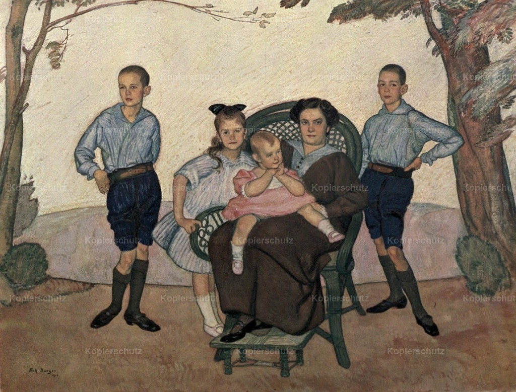 Burger_ Fritz (1877-1916) - Family Group