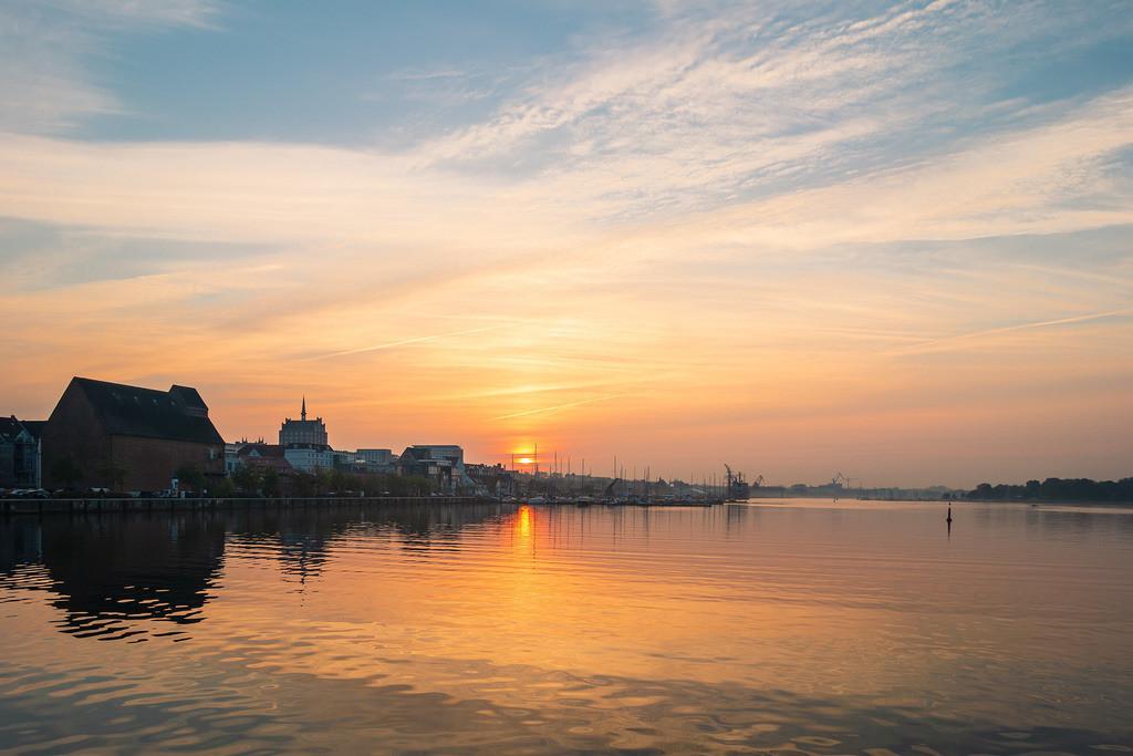 Blick auf den Stadthafen in Rostock | Blick auf den Stadthafen in Rostock.